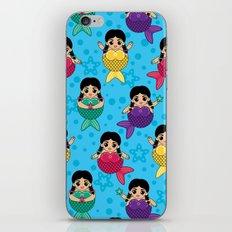 Chubby Mermaids iPhone & iPod Skin