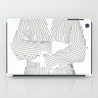 striped iPad Cases featuring Striped by Ehud Neuhaus