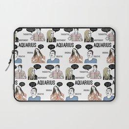 Aquarius- Bravostrology Series Laptop Sleeve