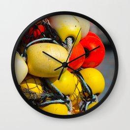Fishing Nets - 3 Wall Clock