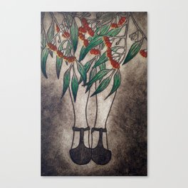 The Gumnut Lady Canvas Print