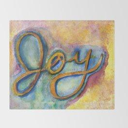 Joy Throw Blanket