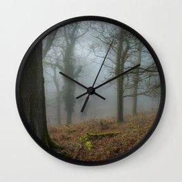 A Winters Morn Wall Clock