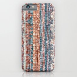 Abstract background textile iPhone Case