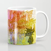 hippie Mugs featuring Hippie by BLOOP
