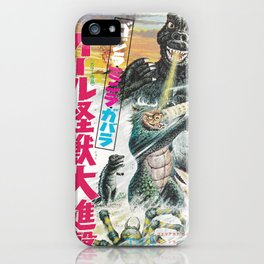 GODZILLA 10 iPhone Case