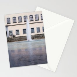 Castle fountain Stationery Cards