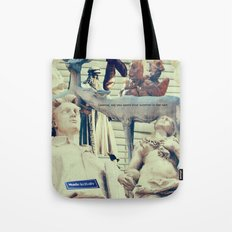 Come to me, I'll rest your soul Tote Bag