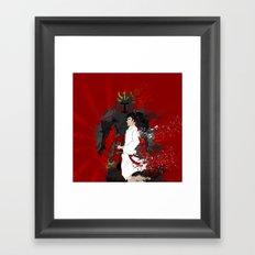 Samurai Warrior Framed Art Print