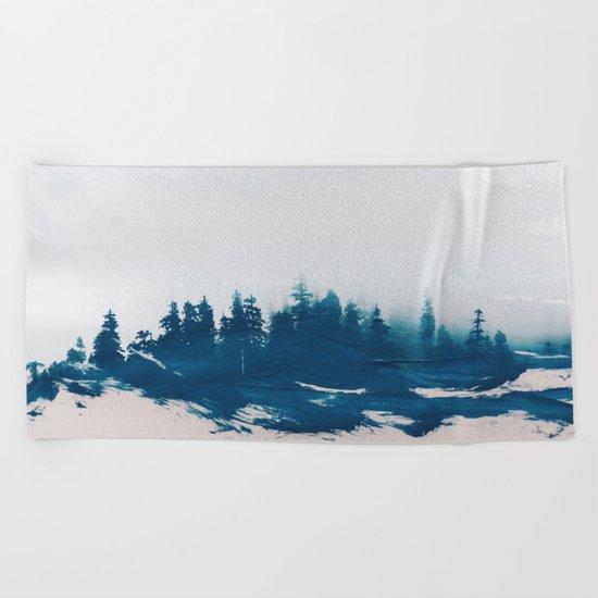 Hollowing souls Beach Towel