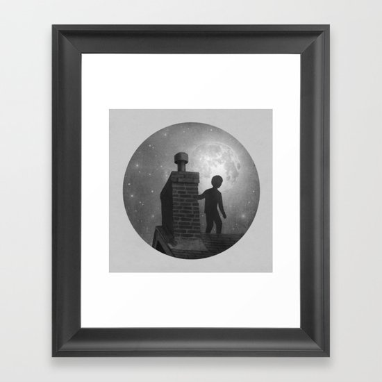 Rooftoppers - Chapter Thirteen  Framed Art Print