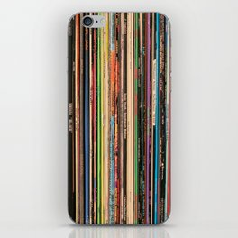 Alternative Rock Vinyl Records iPhone Skin