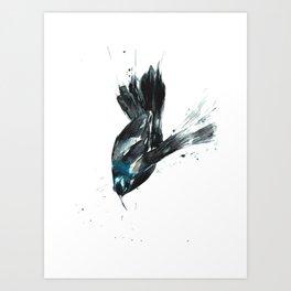 Not your granny's bird art. Art Print