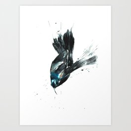 Not your granny's bird art. Art Print