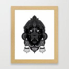 Overpower Overcome Framed Art Print