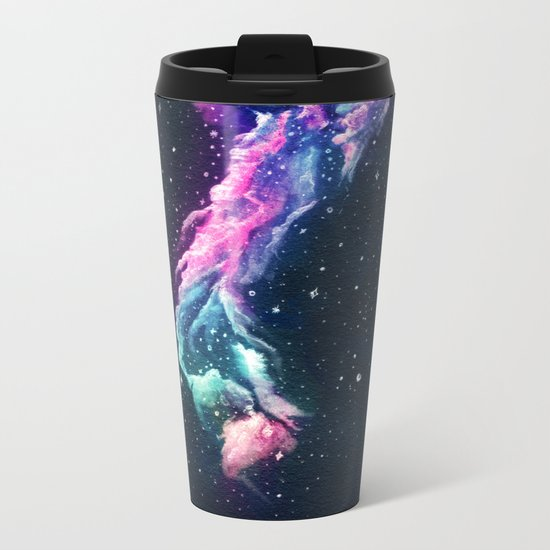 Tower Nebula Metal Travel Mug