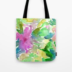 Floral abstraction #3 || watercolor Tote Bag
