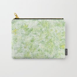 Green and Yellow Foliage Carry-All Pouch
