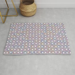 Colorful Groovy Funky Pattern Rug