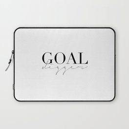 GOAL DIGGER SIGN,Gift For Boss,Like A Boss,Success Quote,Business Women Gift,Printable Art,Modern Ar Laptop Sleeve