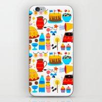 birthday iPhone & iPod Skins featuring BIRTHDAY by Riku Ounaslehto