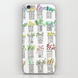 Row House Planters iPhone Skin