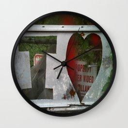 I Love .... Wall Clock