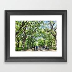 The Mall Framed Art Print