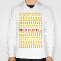 merry christmas Hoodies featuring Christmas Merry! by Fimbis