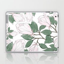 Magnolia. Laptop & iPad Skin