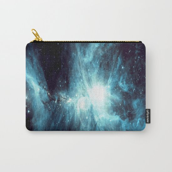 Orion Nebula Teal Carry-All Pouch
