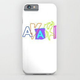 Shop Avani Gregg, Avani Merch iPhone Case