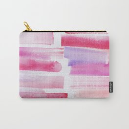 20 | 181101 Watercolour Palette Abstract Art | Lines | Stripes | Carry-All Pouch