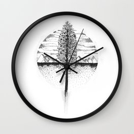 Be Grounded Wall Clock