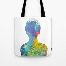 Ocean Thoughts Tote Bag