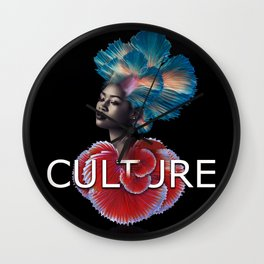 Creative Culture Wall Clock