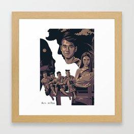 PEE MAK - MOVIE POSTER Framed Art Print