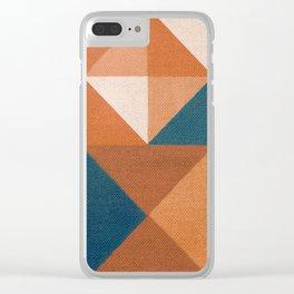 Trigonale 5 Clear iPhone Case
