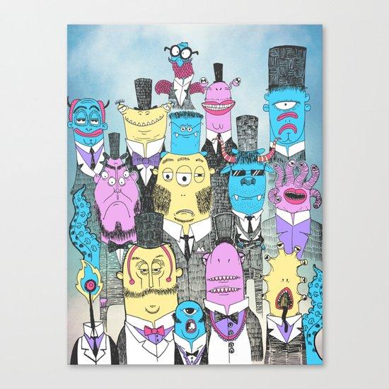 A Few Good Monsters Canvas Print