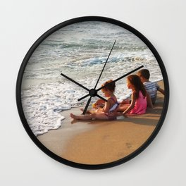 A Moment Shared Wall Clock