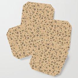 Scrabble Letters Coaster