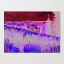 Rural Fields Print from Original Oil Painting Canvas Print