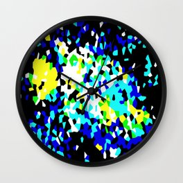 Crystallize 4 Wall Clock