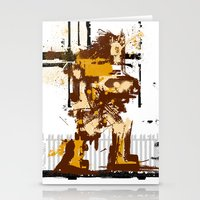 castlevania Stationery Cards featuring Simon De Belemonte' Splatter by alwasow