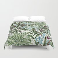 tool Duvet Covers featuring Canopy by Vikki Salmela