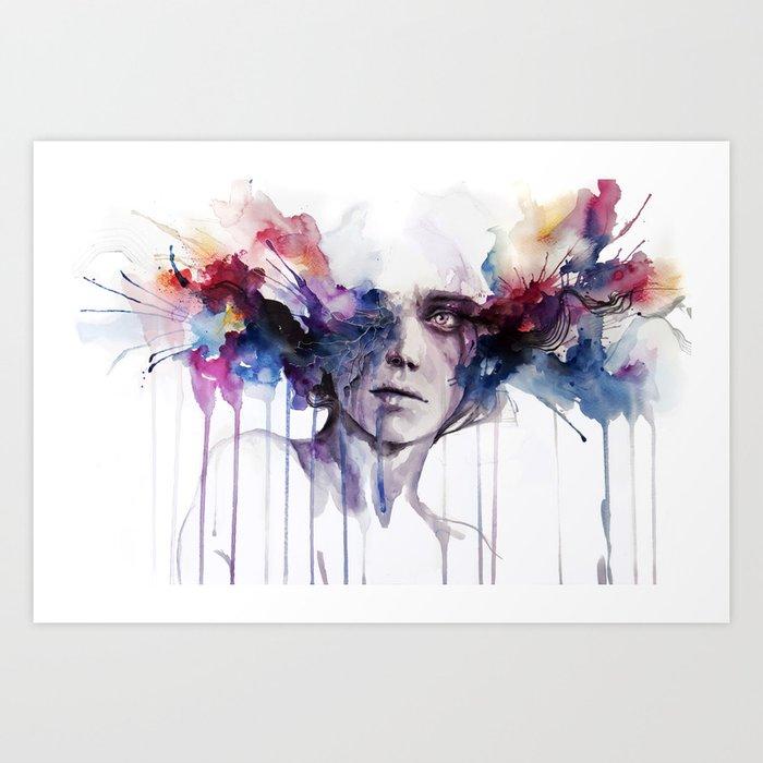 l'assenza Art Print