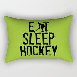 Eat Sleep Hockey Rectangular Pillow