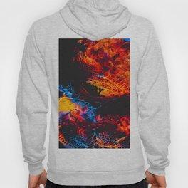 Abstract Splatter Paint v3 Hoody