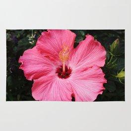 Five Pink Petals Rug