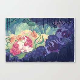 Magical creatures Canvas Print